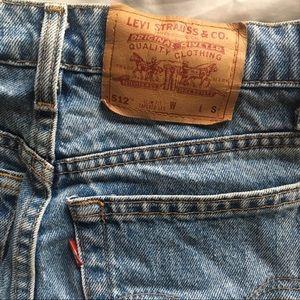 Levi's: Vintage Slim Fit Tapered Leg Denim